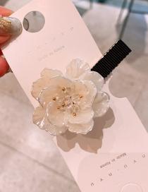 Fashion Hairpin Handmade Shell Flower Alloy Hair Band Hair Clip