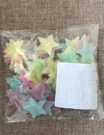Fashion 3cm Color 100pcs/bag 3cm Star Luminous Patch 101pcs