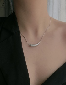 Fashion Silver Small Pepper Stainless Steel Necklace
