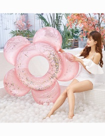 Fashion Pearl White Flower Sequins Underarm Swim Ring
