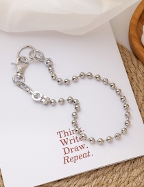 Fashion Necklace Asymmetrical Lock Chain Alloy Earrings Necklace