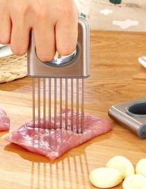 Fashion Silver Kitchen Stainless Steel Onion Fork