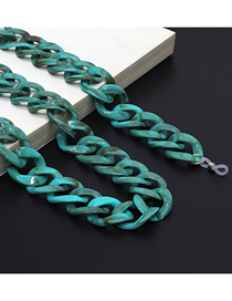 Fashion Turquoise Anti-slip Anti-lost Glasses Chain With Thick Acrylic Chain