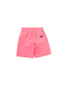 Fashion Dark Pink Childrens Five-point Quick-drying Swimming Trunks