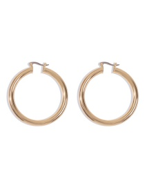 Fashion Gold Color (large) Alloy Ring Ear Studs
