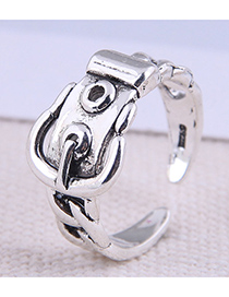 Fashion Silver Color Belt Buckle Open Ring