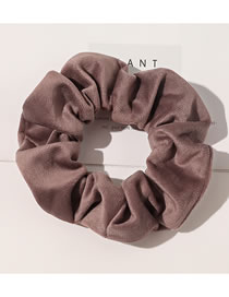 Fashion Arctic Velvet-red Flannel Waffle Fabric Large Intestine Ring Hair Rope