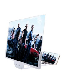 Fashion White Large Screen 14-inch High-definition Mobile Phone Screen Amplifier