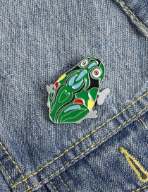 Fashion Frog Leaping Frog Brooch