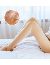 Fashion 500 Grams Of Nylon (plus Velvet Thickening) Plus Velvet Thickening Bottoming Pantyhose