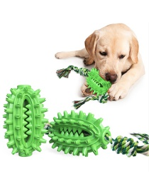 Fashion Cactus With Rope-green Cactus With Rope Molar Ball Dog Toy