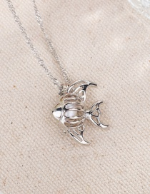Fashion Pearl Hollow Oyster Pearl Necklace