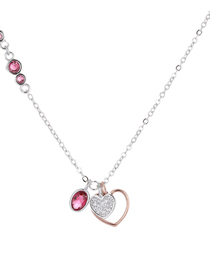 Fashion Red Love Necklace