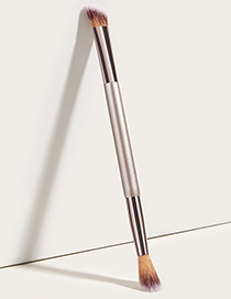 Fashion Champagne Gold Single Double-headed Champagne Gold Eyeshadow Brush