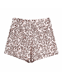 Fashion Photo Color Animal Print Loose Shorts