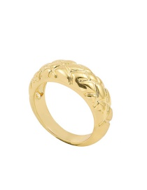 Fashion Number 8 Alloy Plating Spiral Striped Diamond Ring