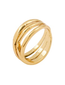 Fashion Number 8 Alloy Wave Hollow Wide Edge Ring