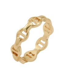Fashion Number 8 Pig Nose Alloy Hollow Ring