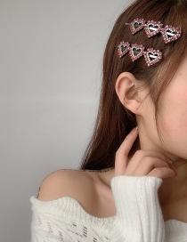 Fashion One Love Diamond-studded Alloy Hollow Hairpin