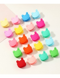 Fashion Color Candy Color Frog Hairpin