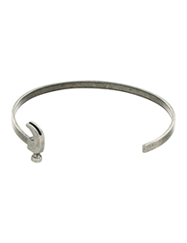 Fashion Ancient Silver Color Machine Tool Hammer Bracelet