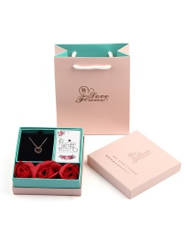 Fashion Color Preserved Flower Rose Packaging Box