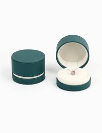 Fashion Ring Pendant Dual-use Box [dark Green] Jewelry Storage Box