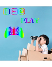 Fashion 30*58cm Colorful Game Console Handle Wall Sticker