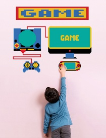 Fashion 40*50cm Game Console Wall Stickers