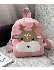 Fashion Pink Childrens Animal Backpack