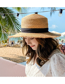 Fashion Yellow Raffia Sun Hat