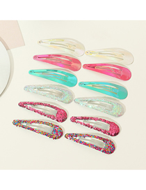 Fashion Color Glitter 16 Hairpins