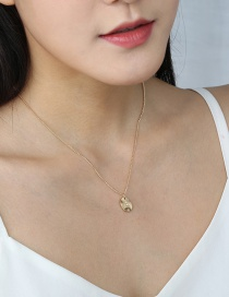 Fashion Gold Color Sky Star Necklace