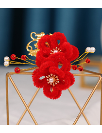 Fashion Section 4 Childrens Flower Hairpin