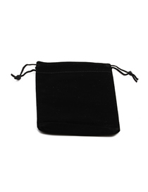 Fashion 7*9 Flannel Bag 1 Lace-up Contrast Color Storage Bag
