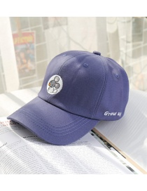 Fashion Navy Beige Mouse Baseball Cap