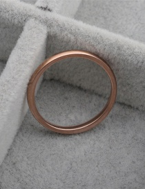 Fashion Golden Inner And Outer Ball Aperture Ring