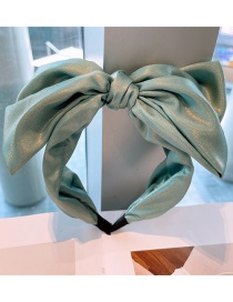Fashion Fresh Green Candy-colored Cream Big Butterfly Headband