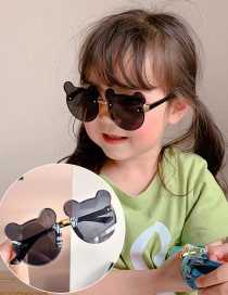 Fashion Grizzly Bear Children's Uv Protection Bear Sunglasses