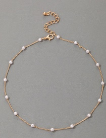 Fashion Pearl Short Pearl Necklace