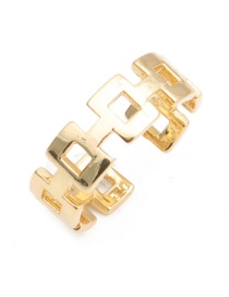 Fashion Gold Color Chain Open Ring