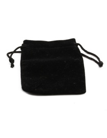 Fashion 7*9 Flannel Bag 1 Elastic Storage Bag