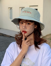 Fashion Fruit Green Sunshade And Anti-sai Letter Fisherman Hat