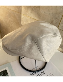 Fashion Beige Pure Color Breathable Beret