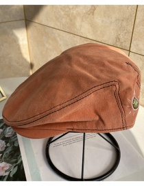 Fashion Caramel Letter Cap
