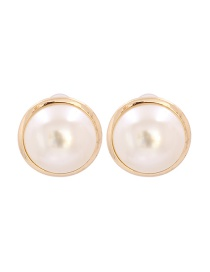 Fashion White Pearl Pearl Earrings