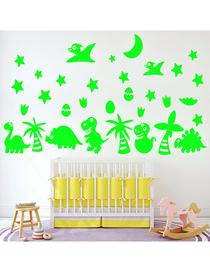 Fashion 20*30cm Luminous Dinosaur World Animal Cartoon Wall Sticker