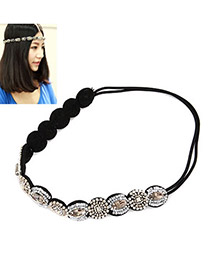 Limited White Simple Round Shape Resin Hair band hair hoop
