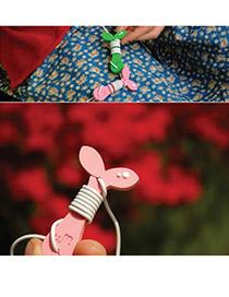 Rosary Color will be random Bean Sprout Design Silicon Cord Fixer