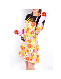 Wholesale Orange Country Style Kitchen Polyester Fabrics Household goods